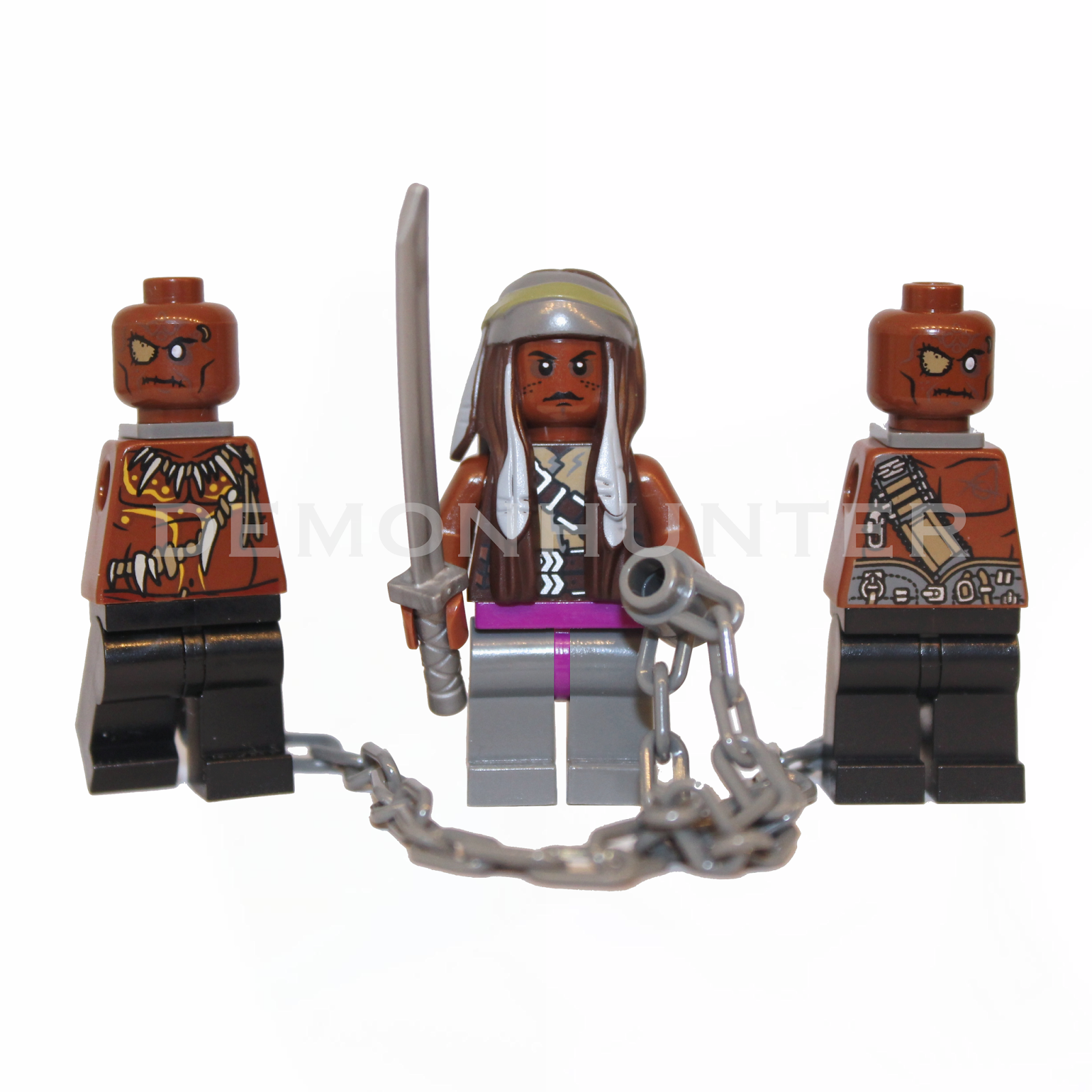 Lego Walking Dead, Lego Michonne, Custom Lego, Walking Dead Lego, Michonne, The Walking Dead, Michonne Lego, Lego Blog