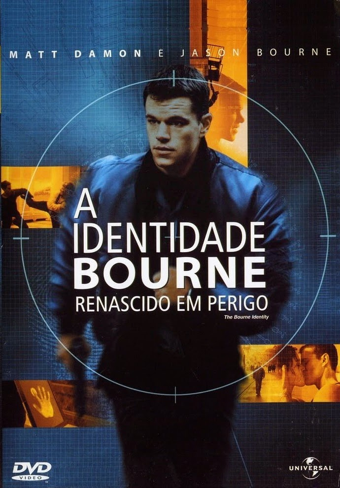 A Identidade Bourne: Renascido em Perigo – Dublado (2002)