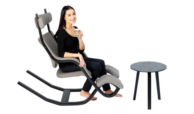 Gravity Balans Recliner By Peter Opsvik : The Zero Gravity Chair