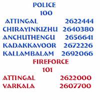 urgent numbers