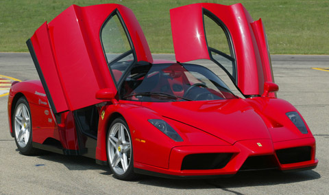 Carros mais caros do mundo em 2013 Ferrari Enzo