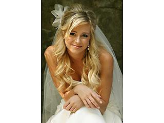 wedding veils for hair down