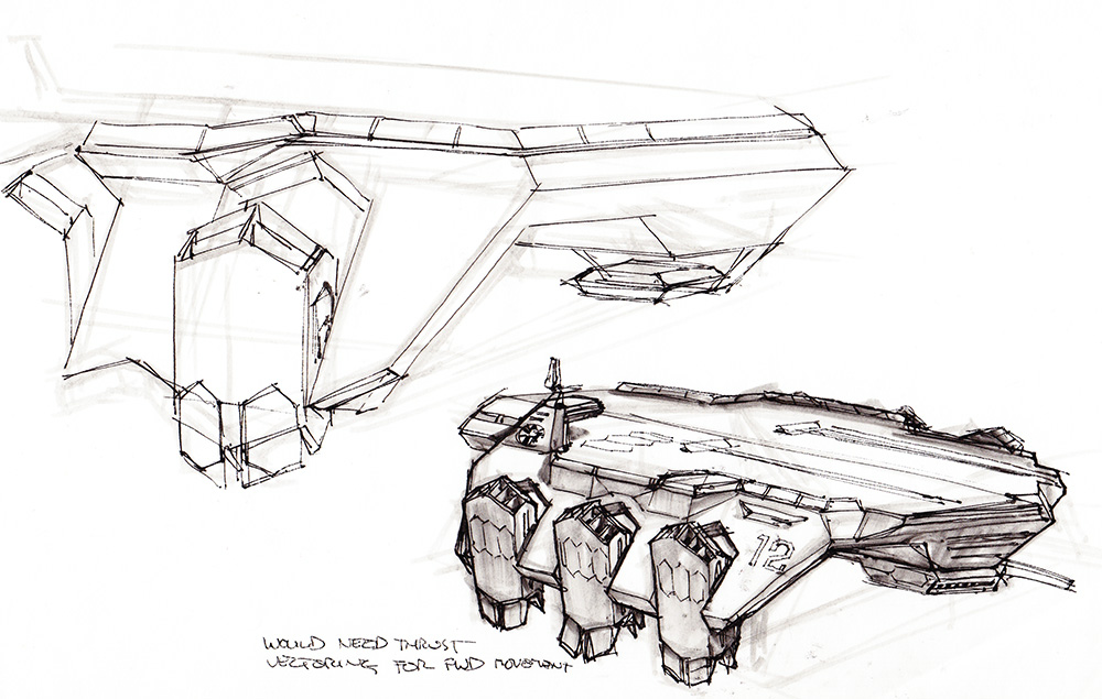 Phil Saunders Random Stuff Helicarrier Development