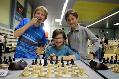 L'équipe d'échecs jeune de Vincennes - Photo © Chess & Strategy