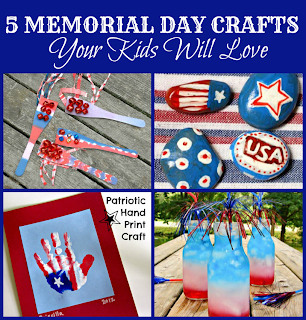 5 memorial day crafts for kids