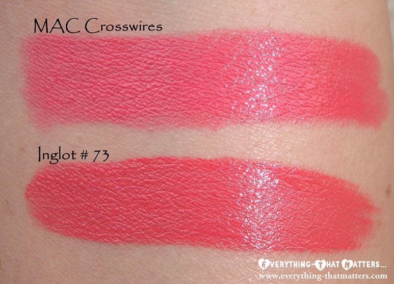 MAC+Crosswires+Dupe+Inglot+Lipstick+Refill73