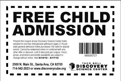 Az science center discount coupons