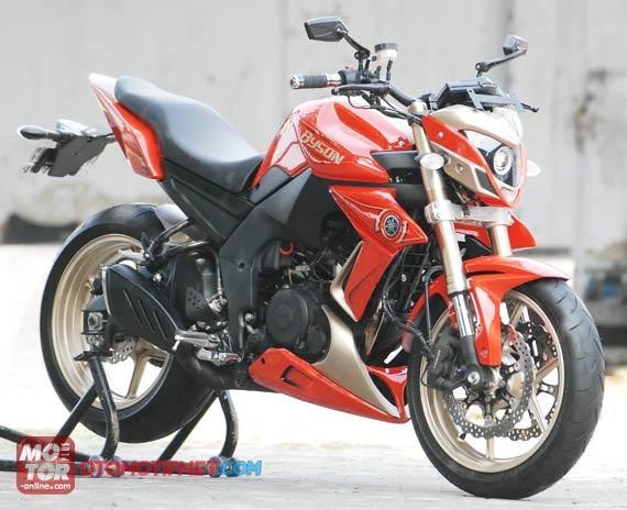 Modif Yamaha Byson Ala Ducati