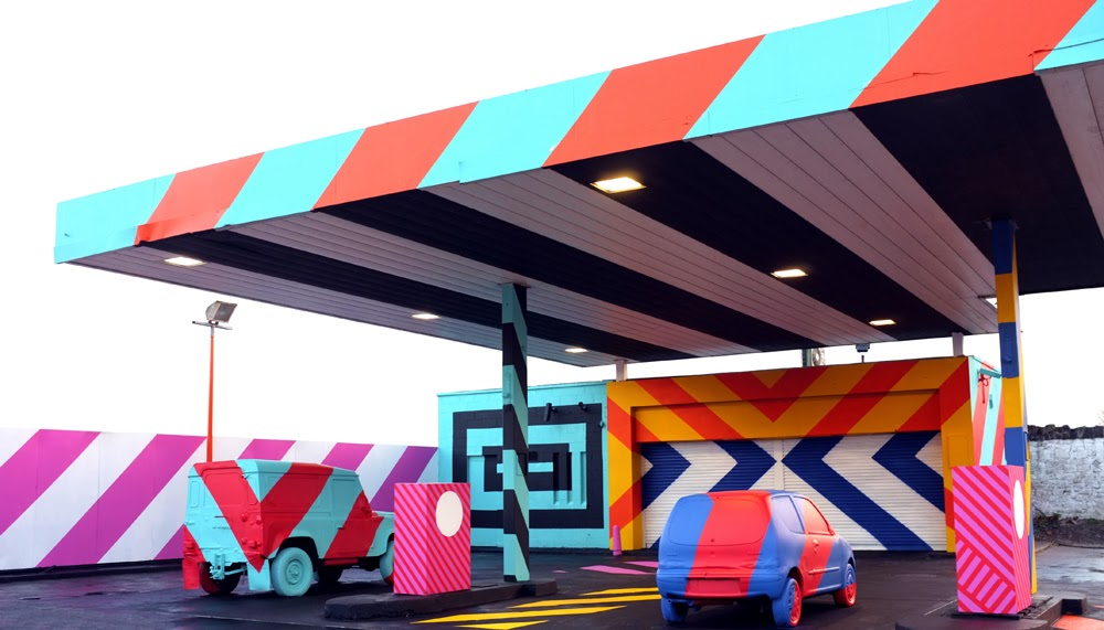 January 2014 Most Popular Street Art Pieces On StreetArtNews With Maser, L7M, Invader, Fin DAC and more... 1