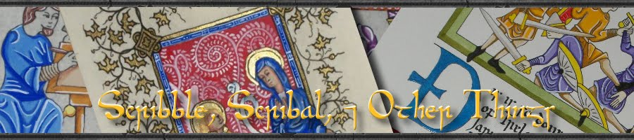 Scribble, Scribal, & Other things