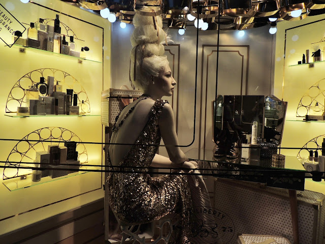 Liberty Christmas Windows - The Dressing Room