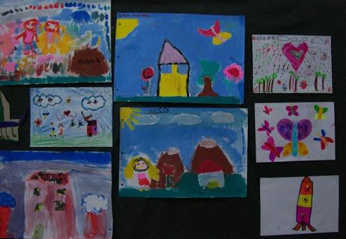 A todos nos gusta mucho pintar y dibujar...