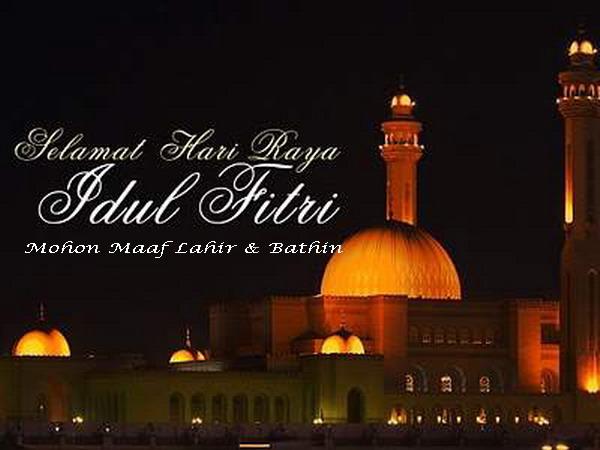 Kemudian ucapan Selamat Idul Fitri dalam Bahasa Padang, kita dapat