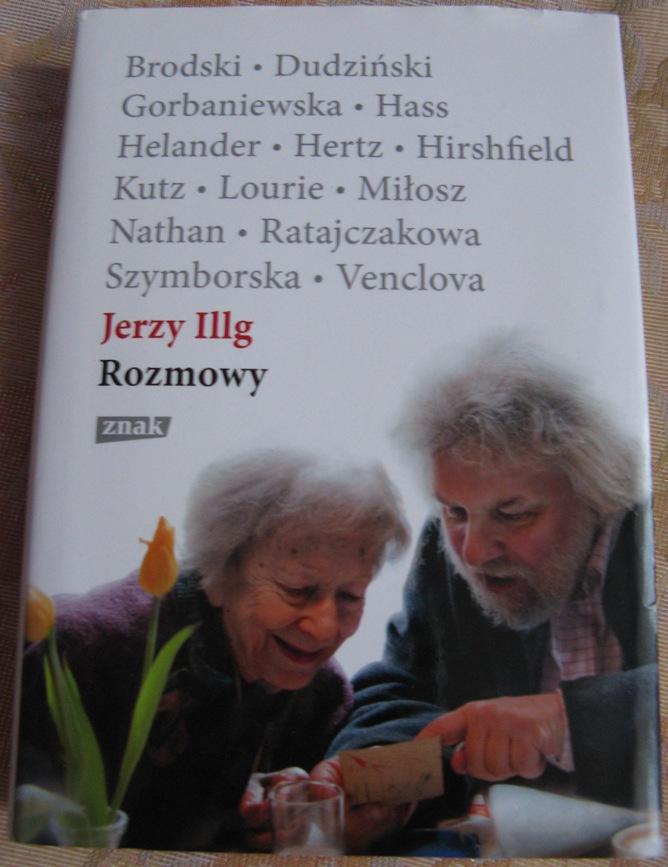 okładka książki Rozmowy Jerzy Illg