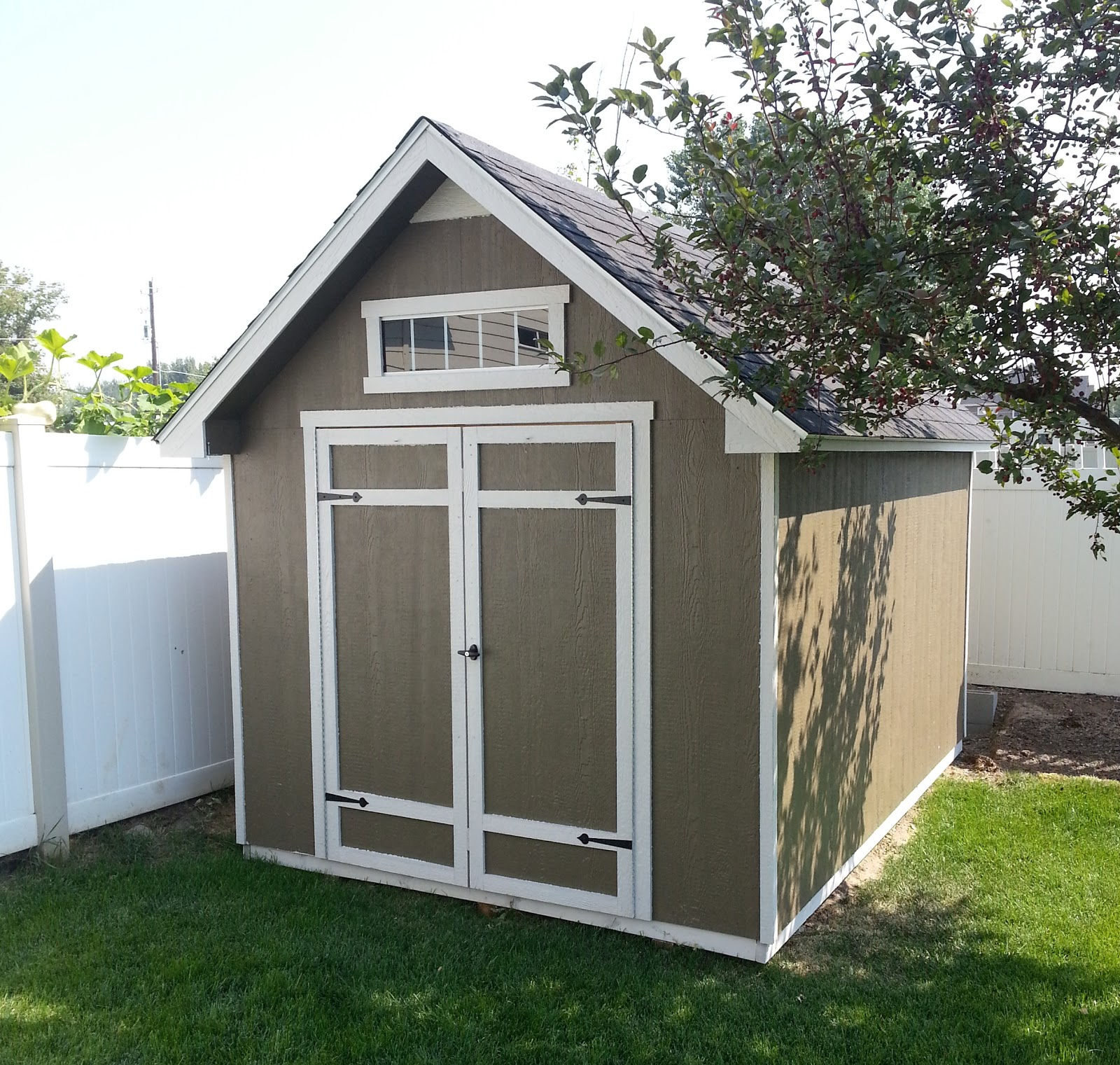 Outdoor storage bench shed costco diy storage shed ideas for Outdoor garden shed