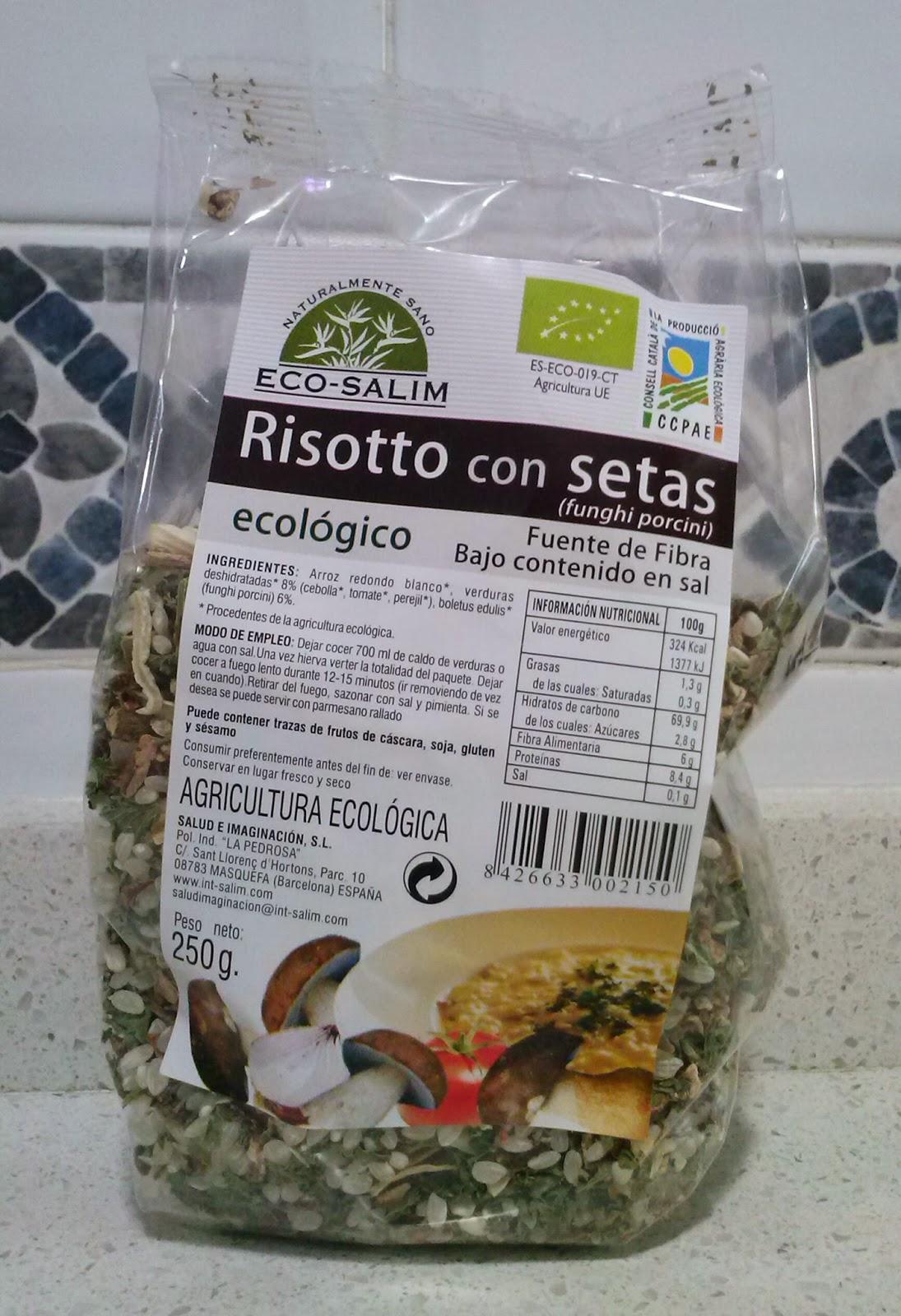 La cocina de sole risotto con setas - Risoto con setas ...