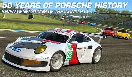 Real Racing 3 APK 50 years of porsche history