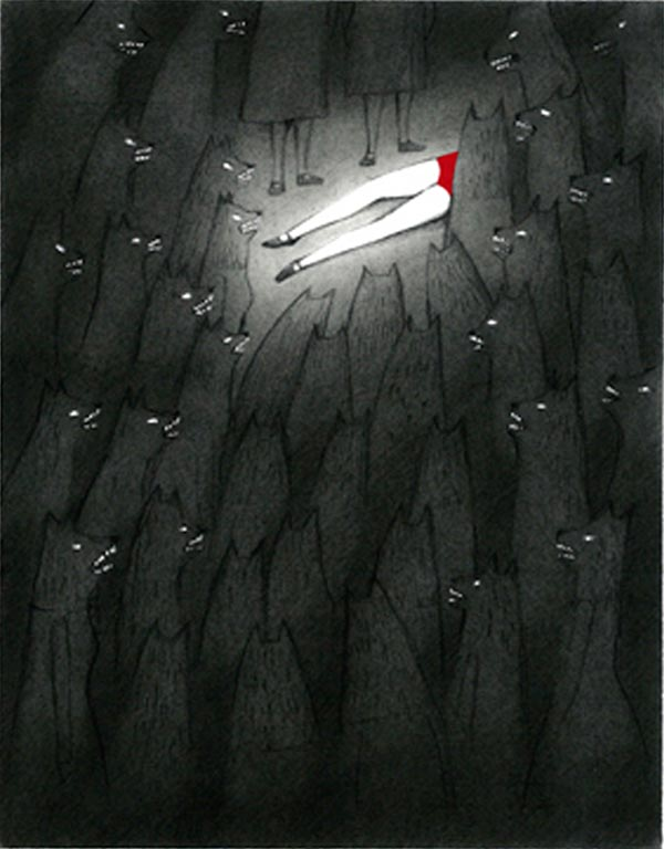 Ilustración, Curiosa de Sandra Rilova