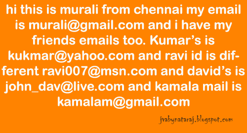 find emails from the given text file_JavabynataraJ