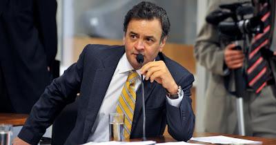 PT mente para tentar denegrir imagem do senador Aécio Neves