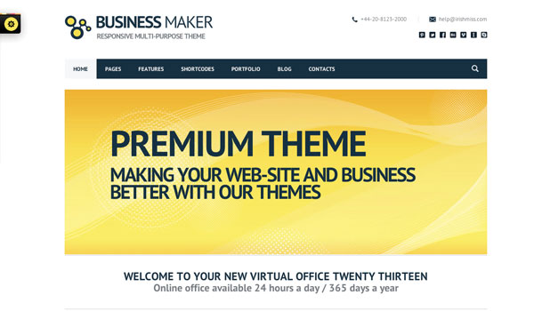 Business Maker Theme