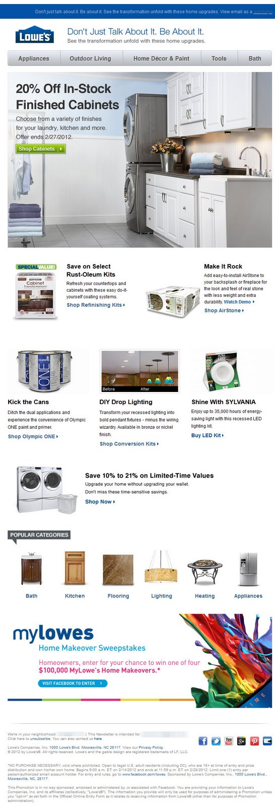 Lowes Labor Day Sale Ad