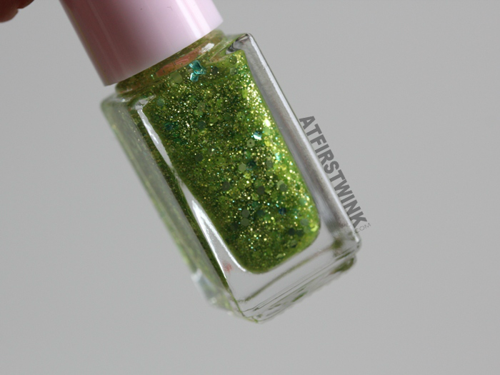 Etude House Juicy Cocktail gradation nails 8 - Lime Squash (nail polish 3 - Tangy Lime)