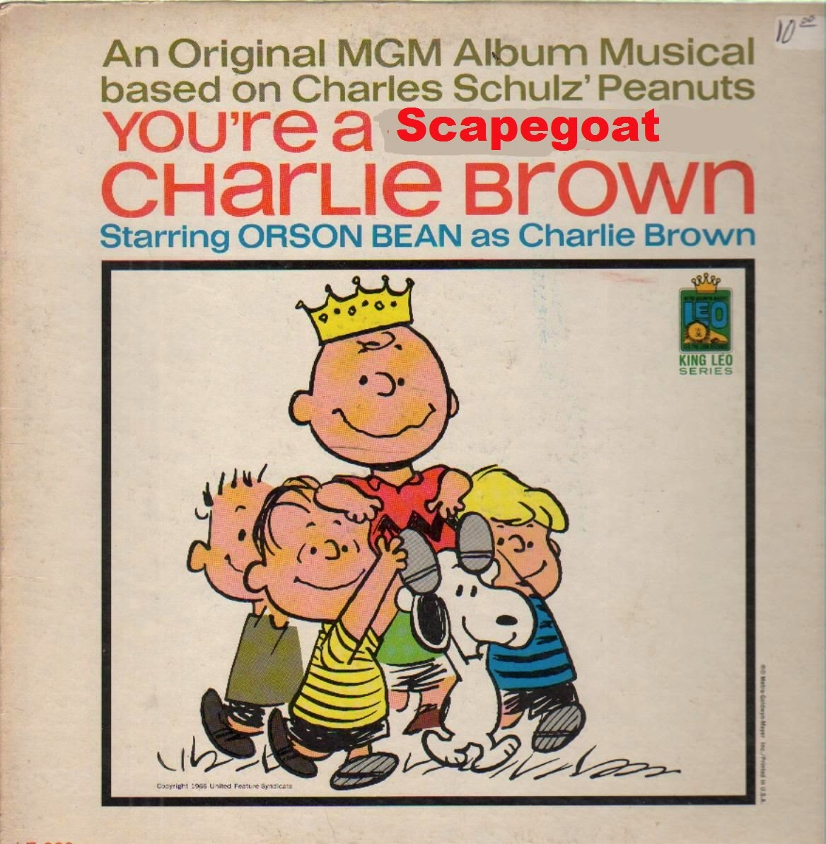 You're a Scapegoat, Charlie Brown album