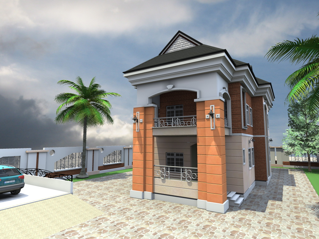 4 bedroom duplex residential homes and public designs for Plan duplex