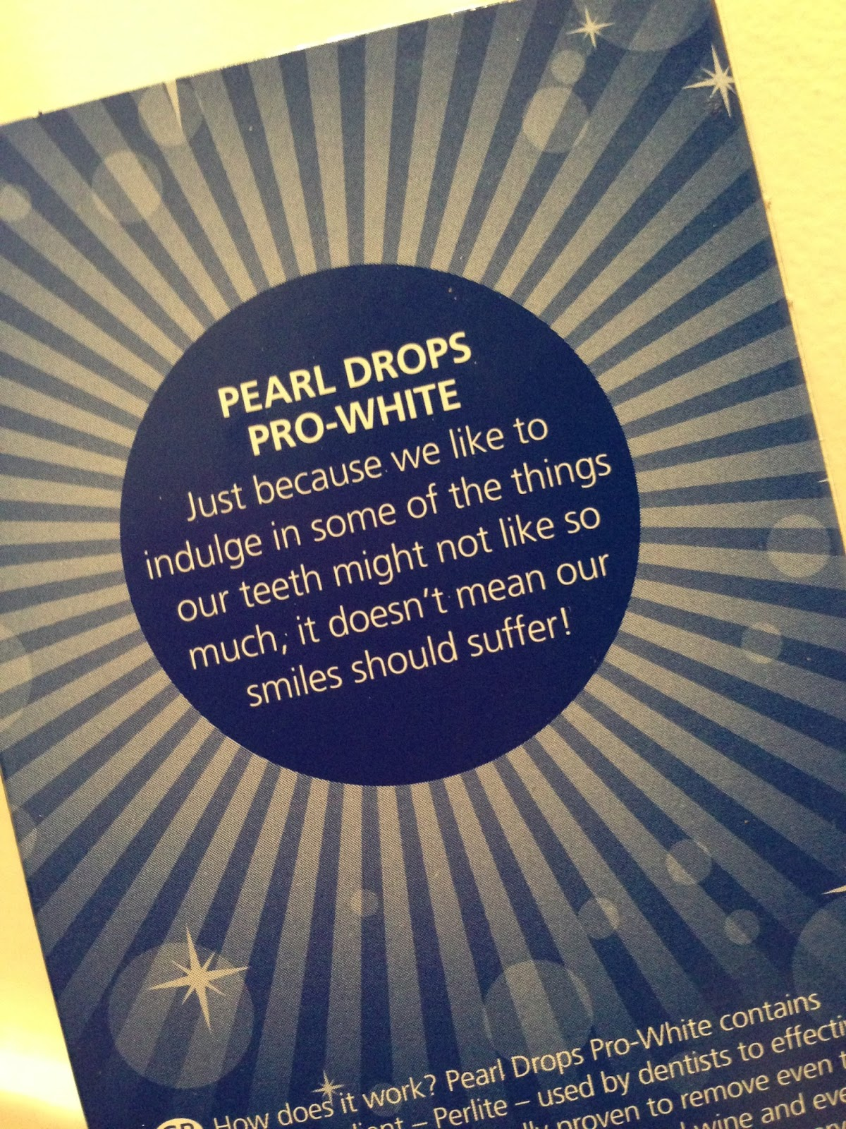 Claire 39 s diva days product review pearl drops toothpaste - Get clean white socks without bleach ...