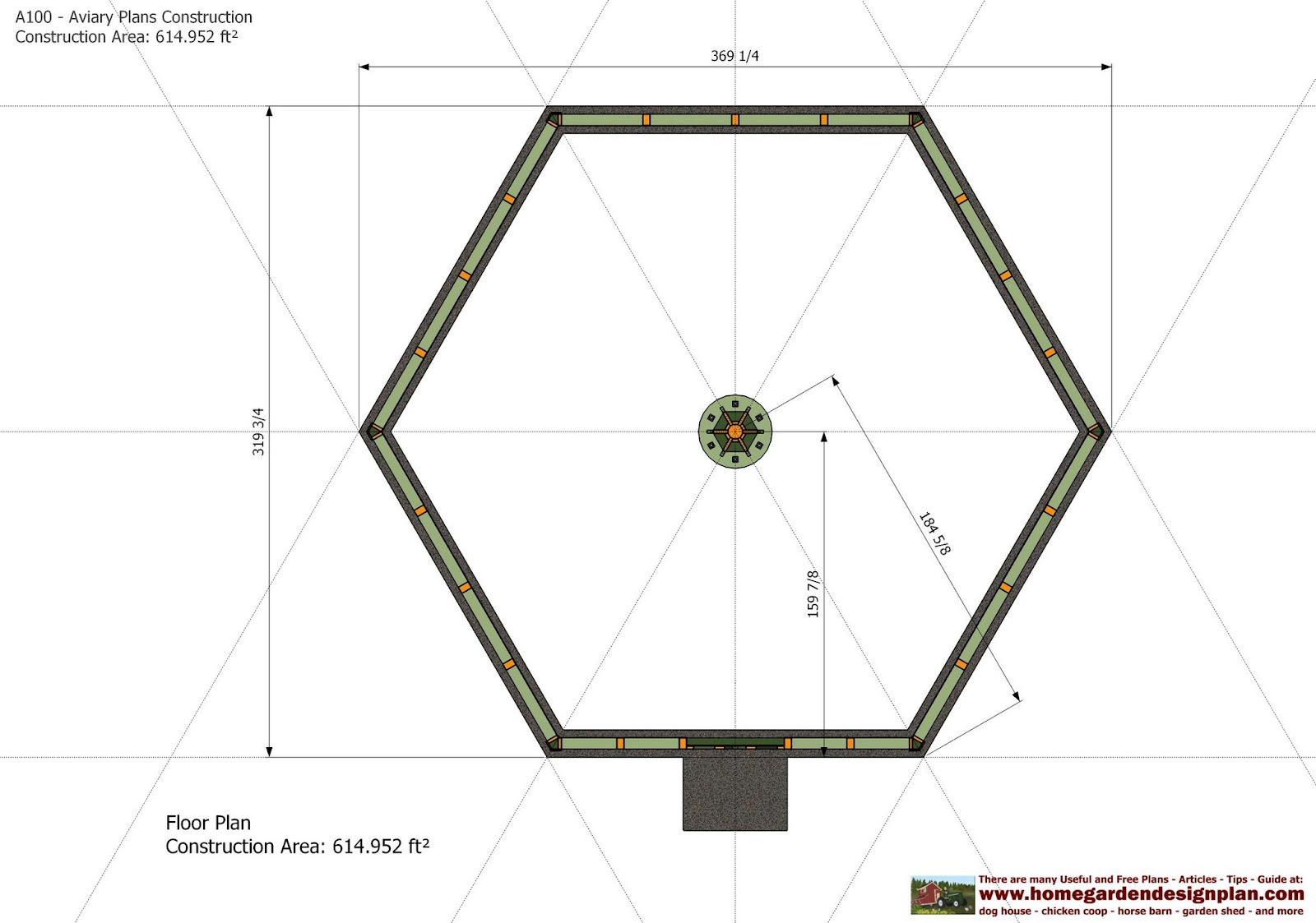 home garden plans: A100 - Aviary Plans Construction - Aviary Design ...