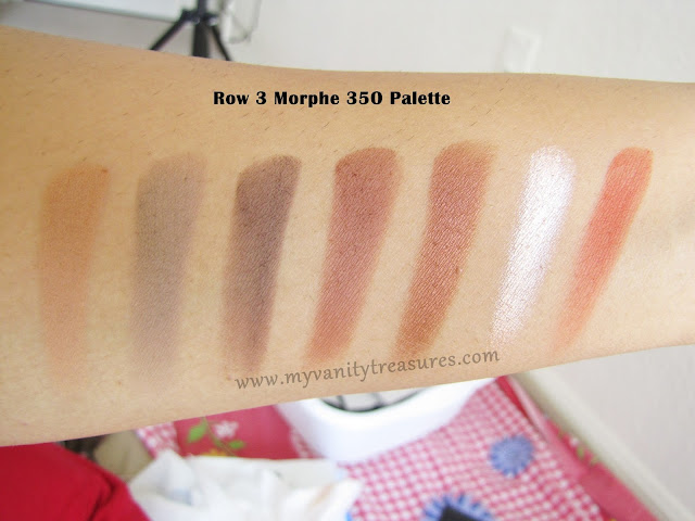 Morphe 35o swatches