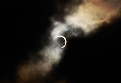 Eclipse anular de sol desde Japon, 20 de Mayo de 2012