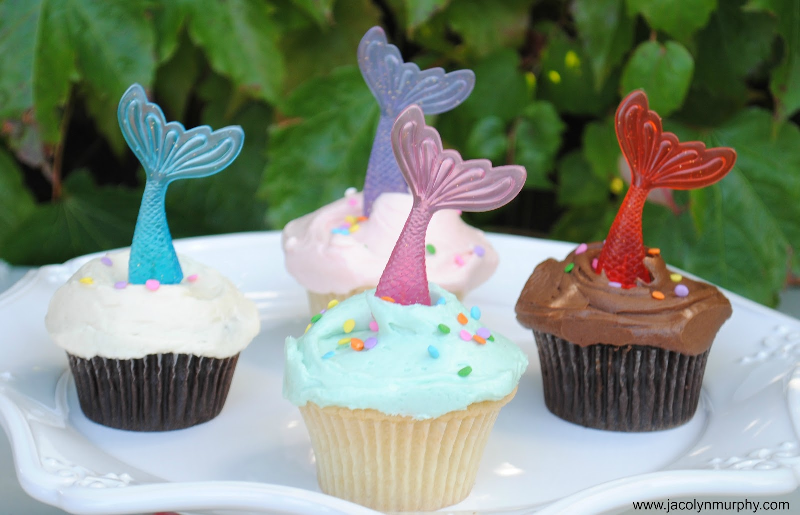 Jac o lyn Murphy Dive In Mermaid Cupcake Toppers