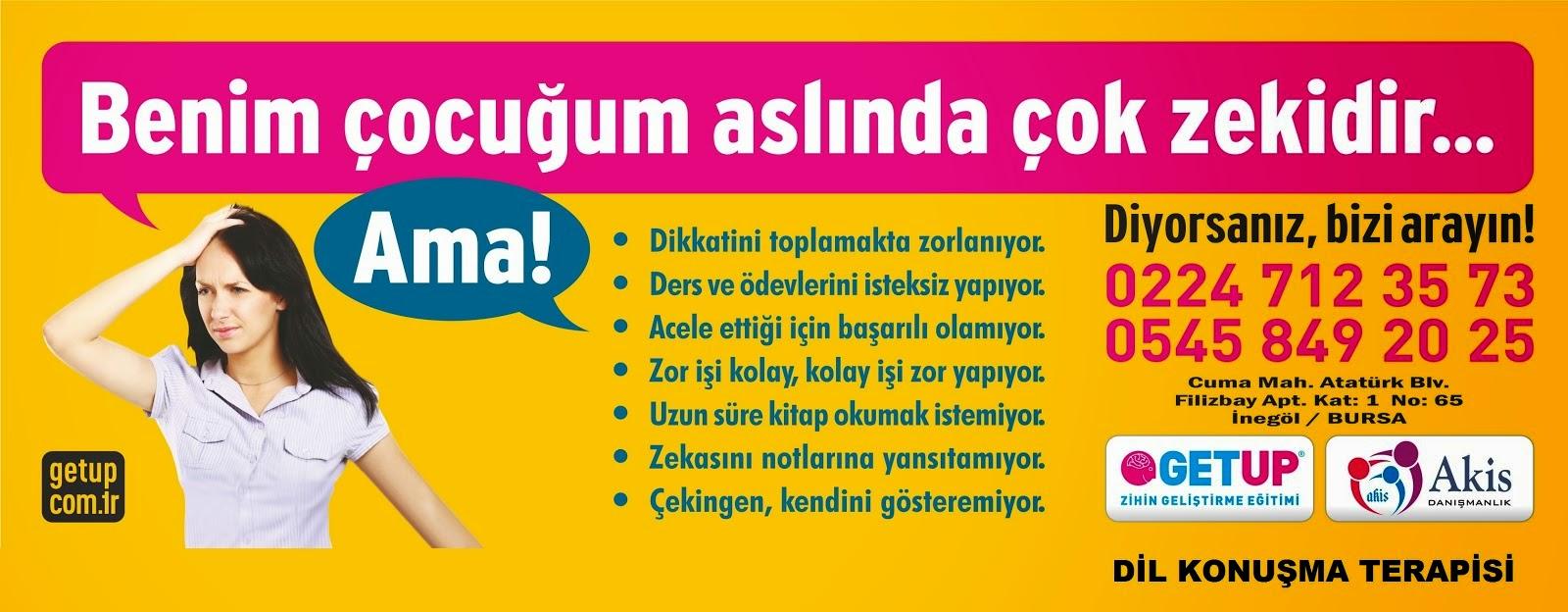 BURSA İNEGÖL'DE DİL KONUŞMA TERAPİSİ