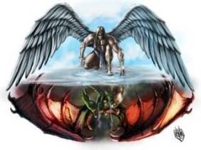 Malaikat vs Iblis