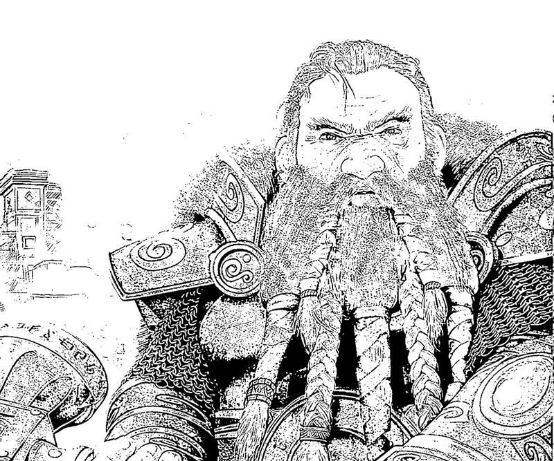 might-and-magic-heroes-best-dwarf-coloring-pages