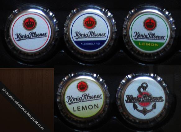 Beer caps collection: Konig Pilsener Alkoholfrei, Lemon