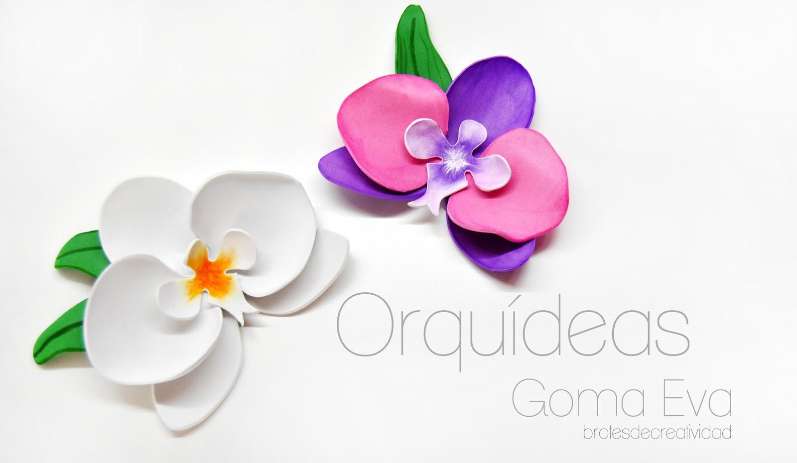 Haz Flores de Jacinto en Goma Eva / Foamy | Manualidades