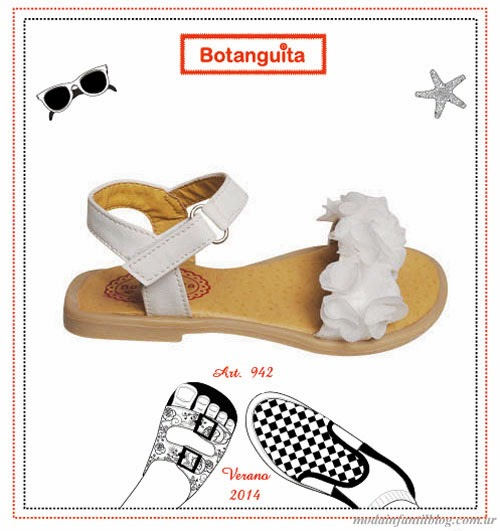 sandalias infantiles botanguita 2014