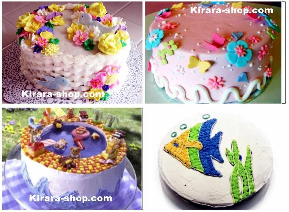 imo haircut Cake Decorating Tutorial Video panduan tehnik