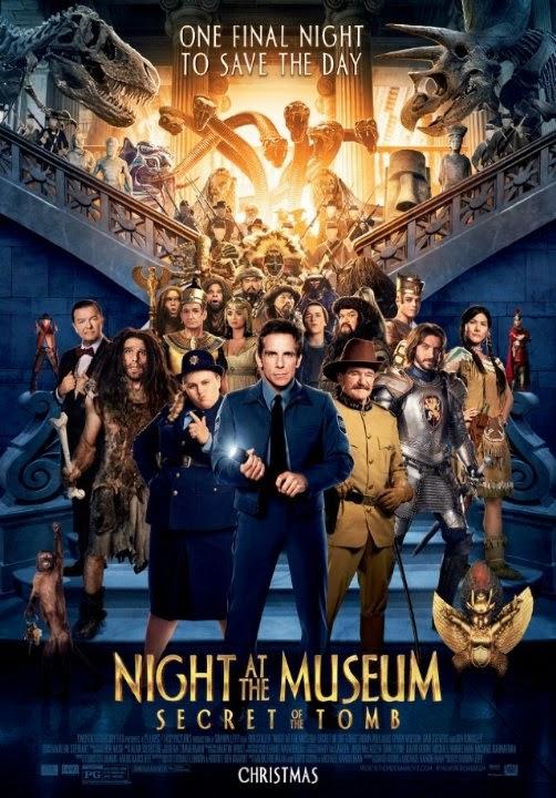 Ver Una noche en el museo 3: El secreto de la tumba (2014) Online