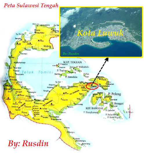 kota luwuk terindah sulawesi tengah indonesia saraung