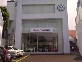 VW Resmikan Diler Kemayoran