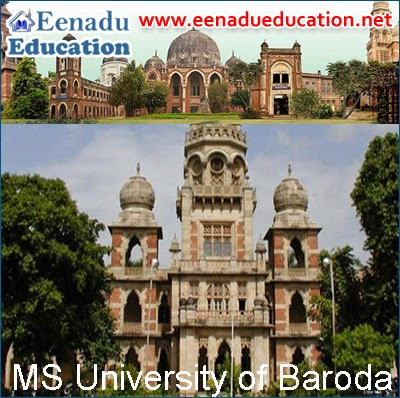 155 Faculty posts in MS University Baroda