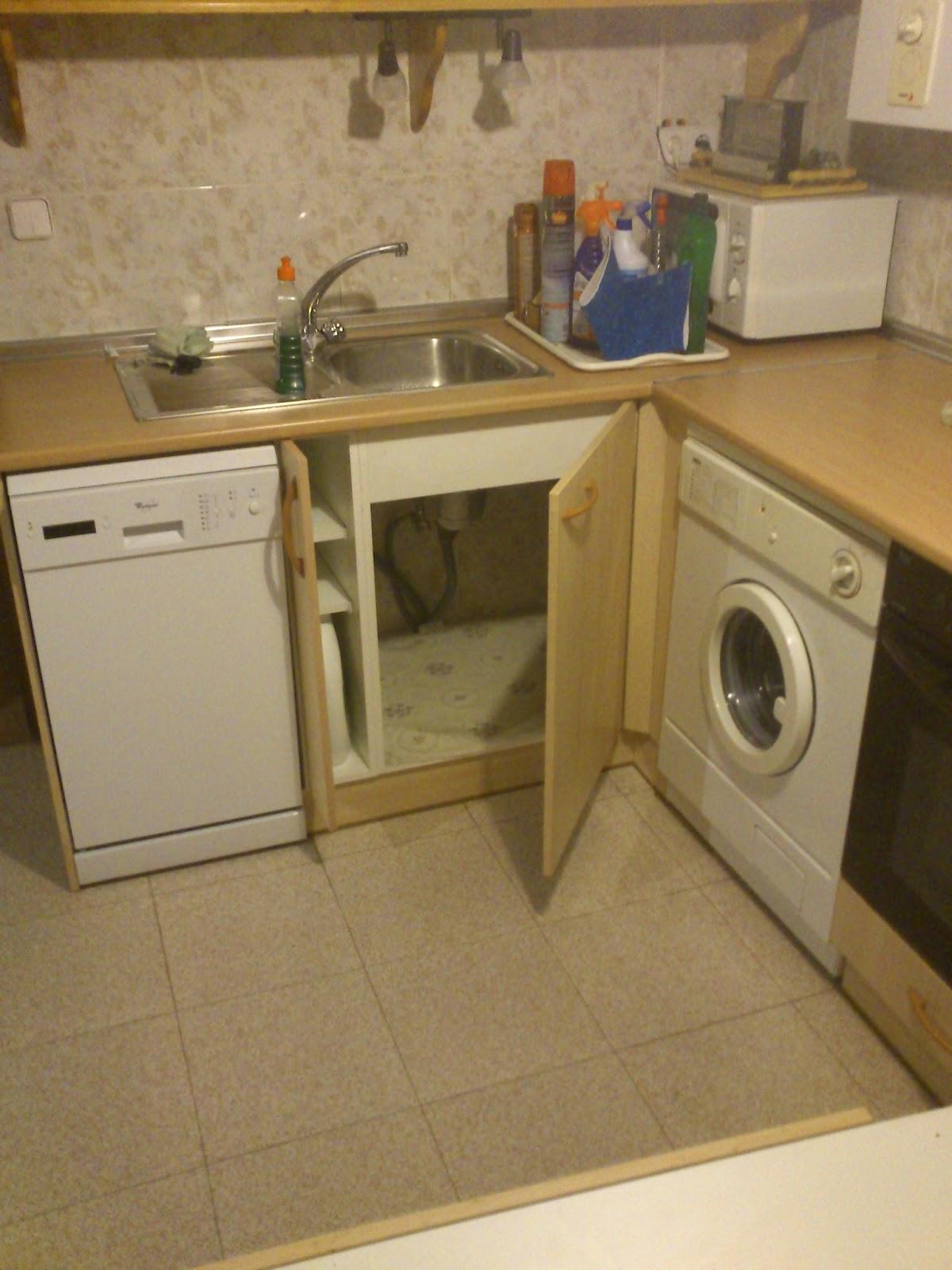 Sergio vivas carpintero peque as reformas en cocina - Electrodomesticos para cocinas pequenas ...