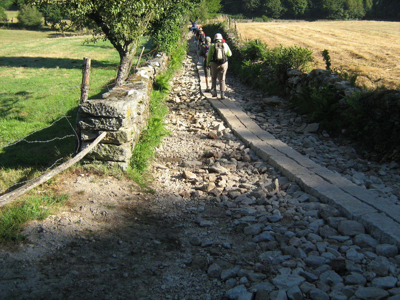 Cammino di santiago in bicicletta in solitaria anno for Camino sul ponte rialzato
