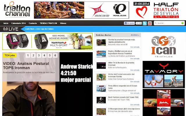 La mejor pagina de Triatlon y Ironman