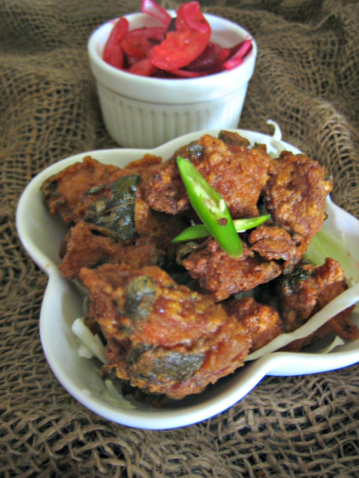 restaurant style chicken65 4