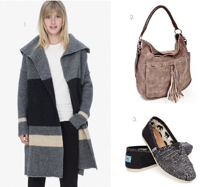 james perse sweater toms